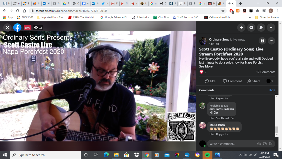 Virtual Porchfest 2020