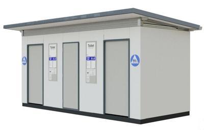 Exeloo public restroom
