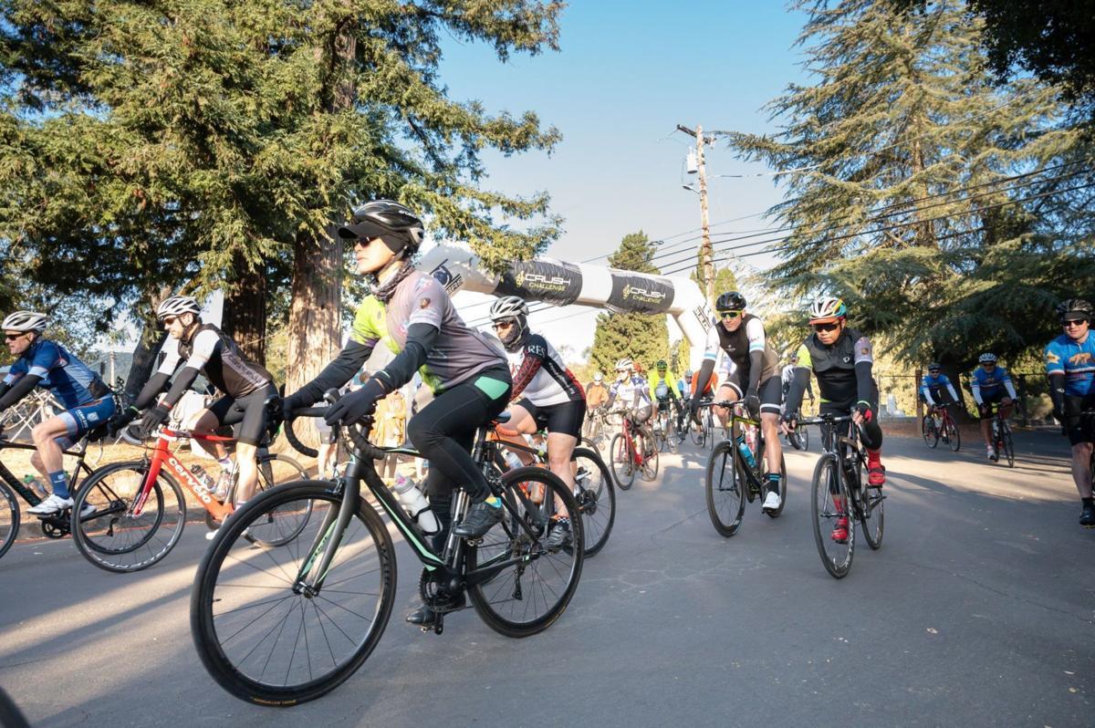 Riders on the 2019 Crush Challenge