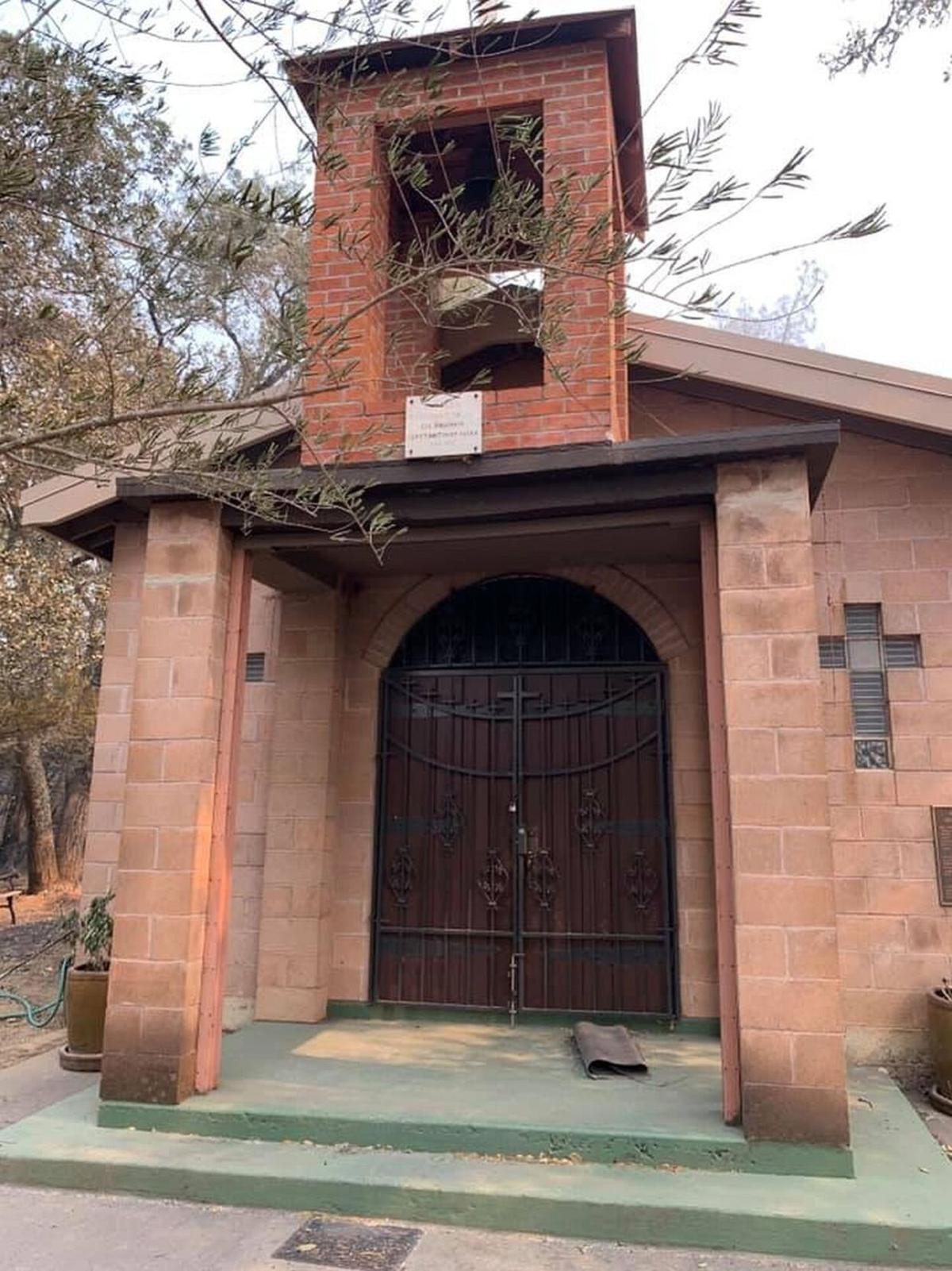 Calistoga's Greek Macedonian Park in ruins from Glass Fire, but the chapel  survived | News | napavalleyregister.com