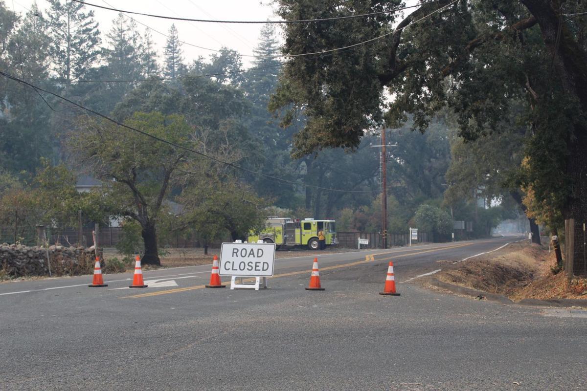Tubbs Lane closed