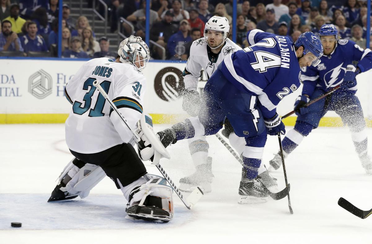 Sharks Lightning Hockey