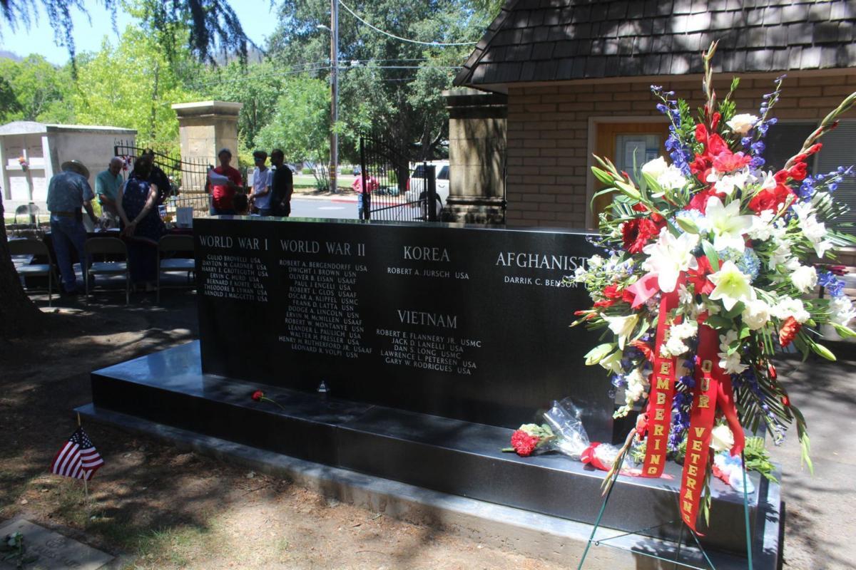 Saint Helena Veterans Memorial 2021
