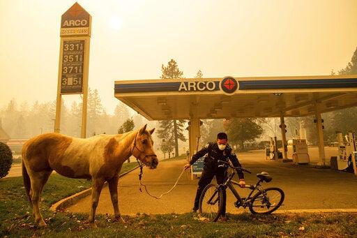 Fleeing fire common in California; evacuation plans aren't