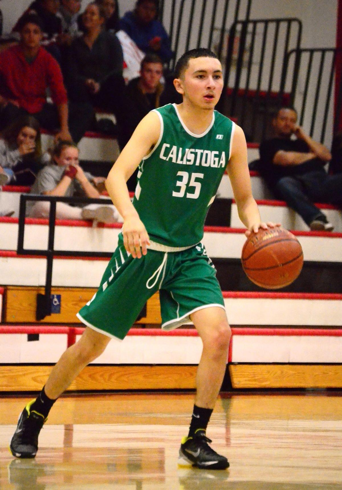 Calistoga High boys basketball