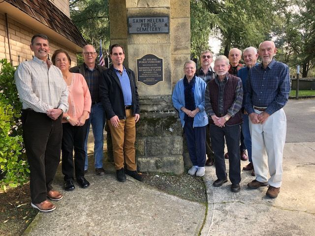 St. Helena Public Cemetery Association board of directors