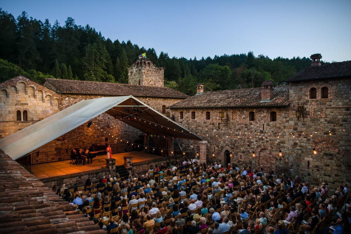 Opening Night Concert at Castello di Amorosa