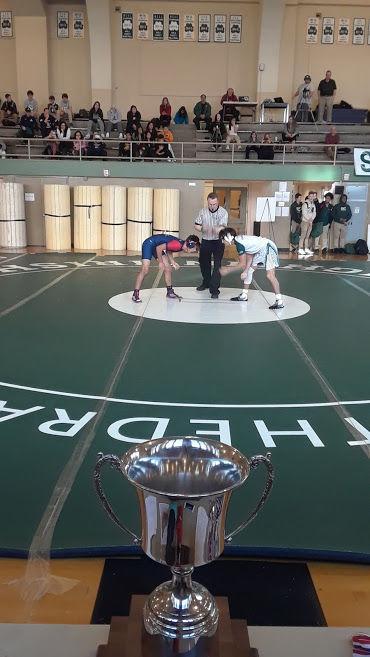 Justin-Siena wrestling