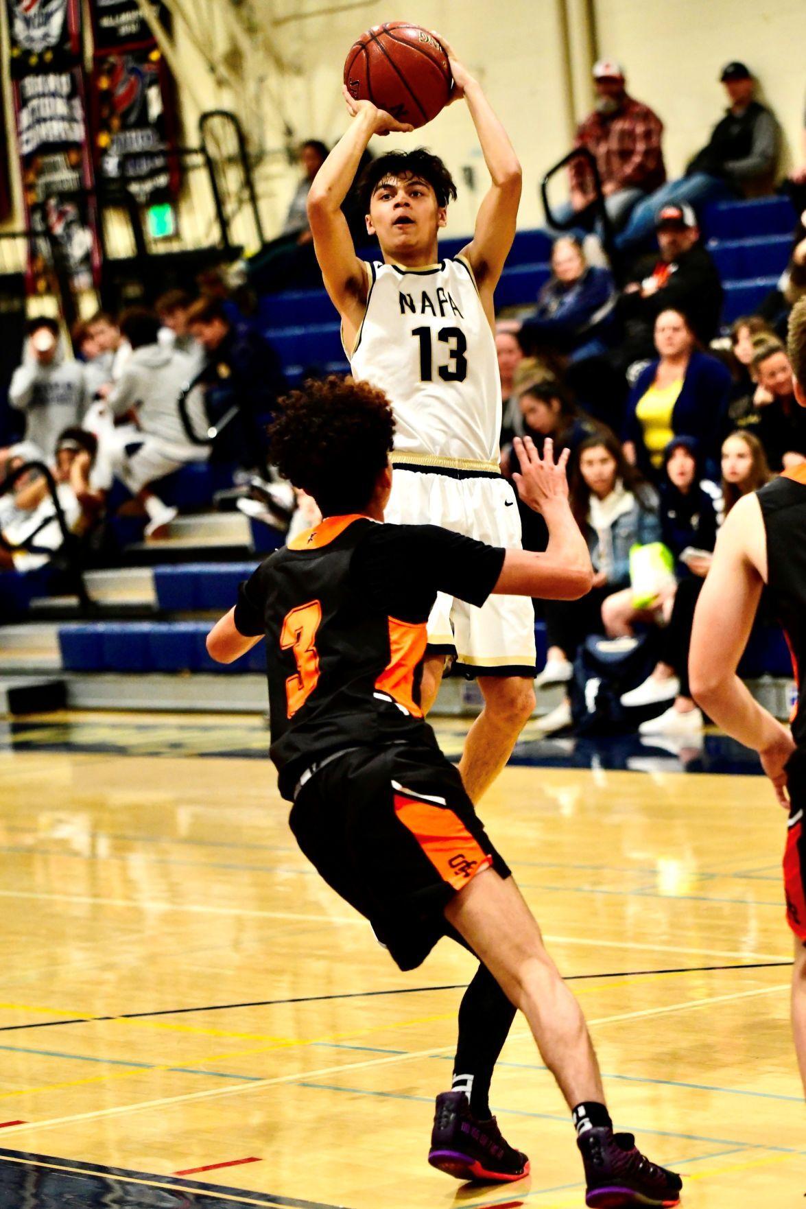 Napa high boys basketball