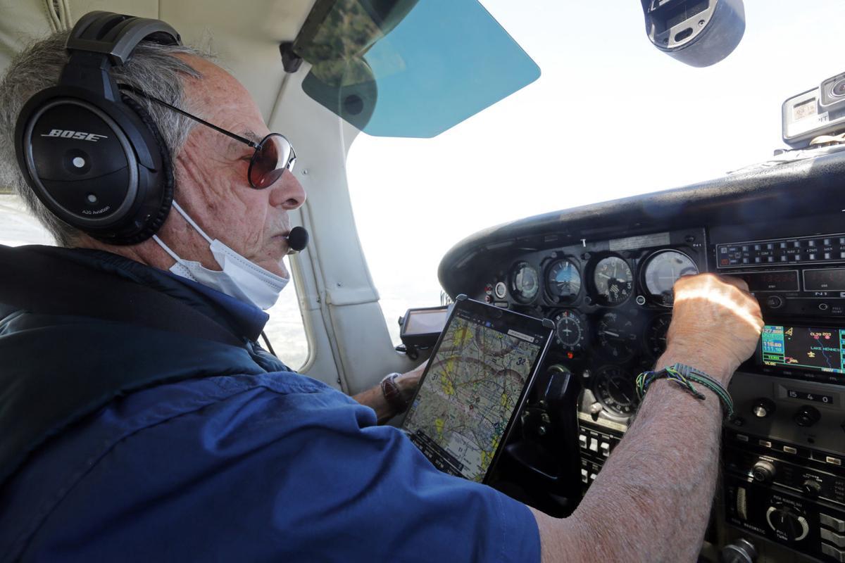 EcoFlight air survey of wildfire zones