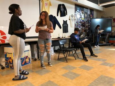 Meeting Judgment, Emotion and Soul in a high school drama class