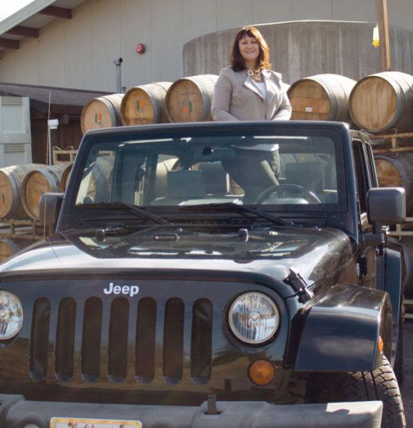 Julie Paine explores 'hidden' Napa via Jeep   Business ...