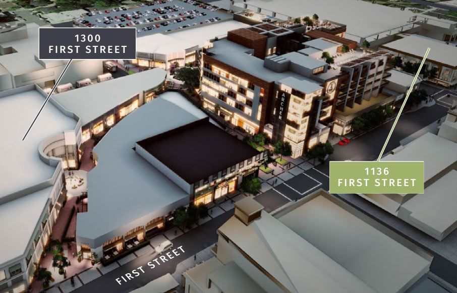 First Street Napa office space for lease