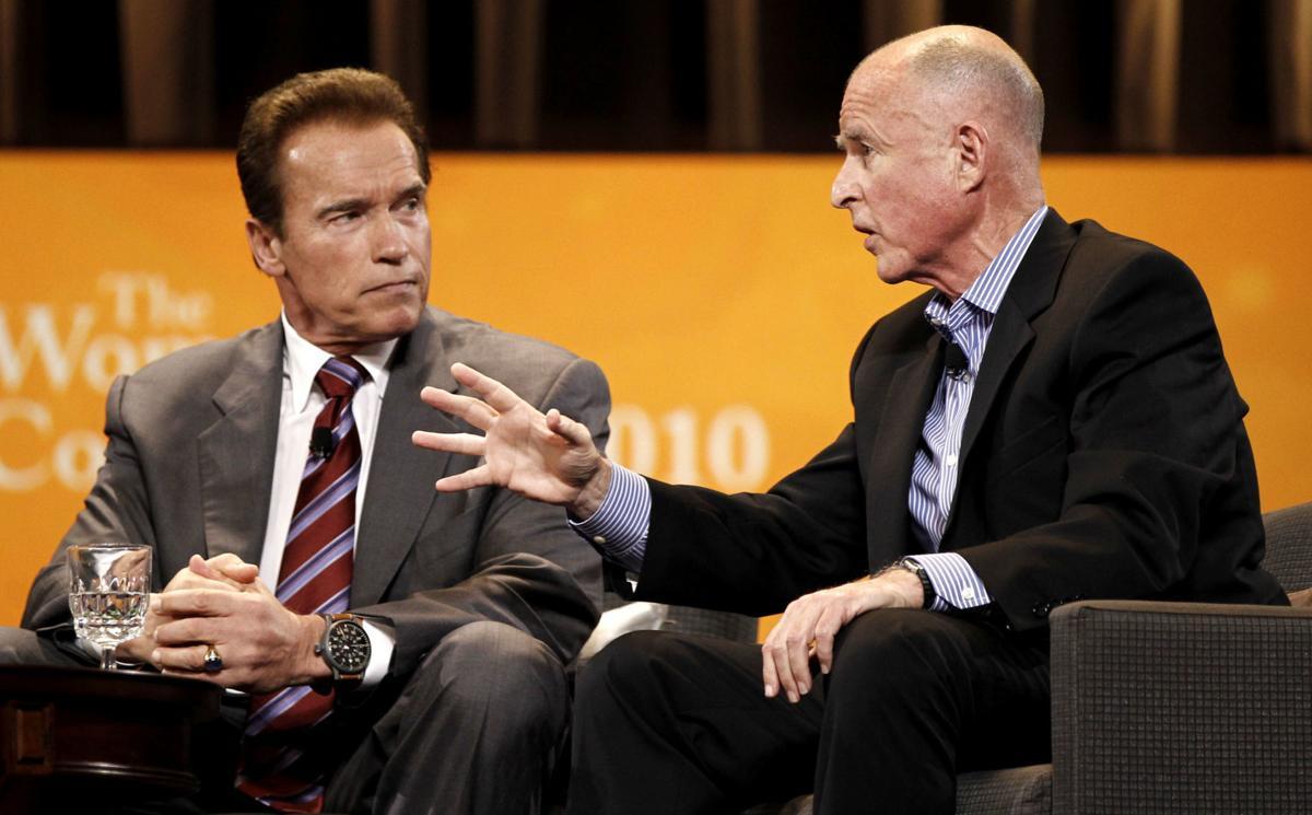 Arnold Schwarzenegger,Jerry Brown