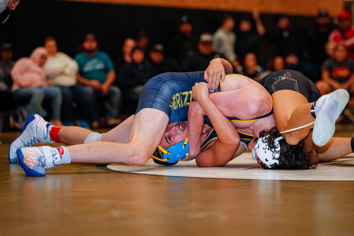 American Canyon Wolves vs. Napa High Grizzlies; Varsity Wrestling