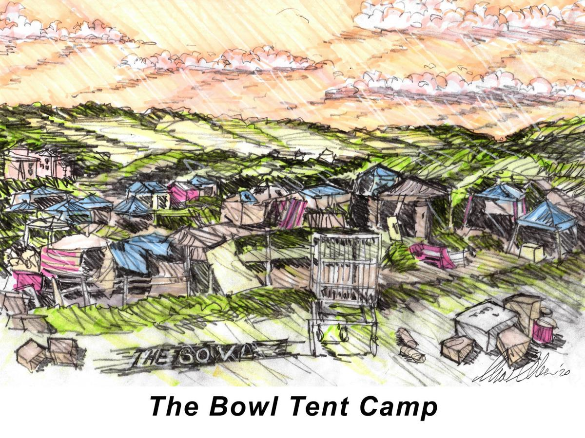 The Bowl Tent Camp
