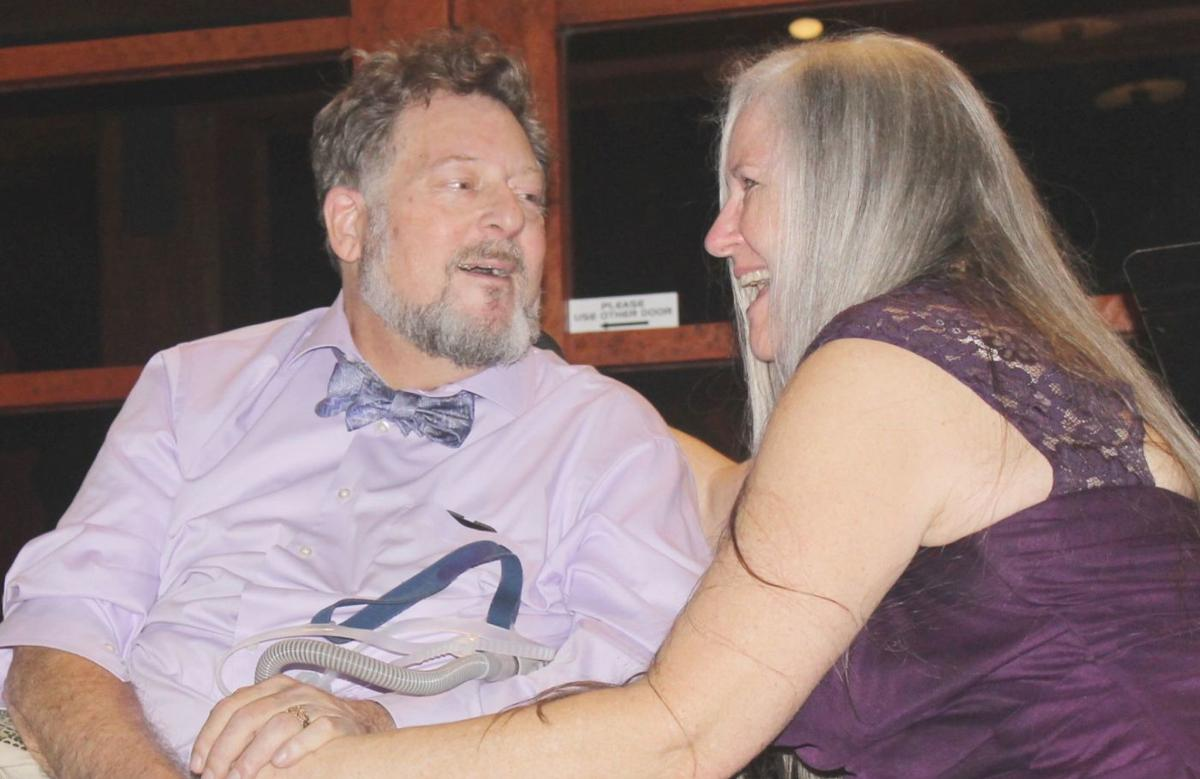 Doug and Carolyn Ernst renew their wedding vows