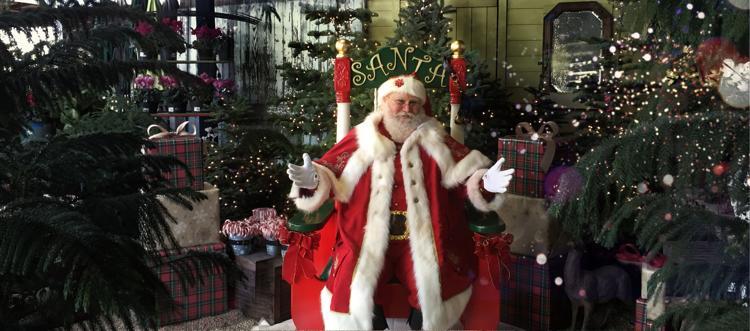 Santa at Central Valley