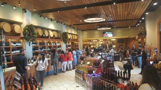 San Antonio Winery Tasting Room