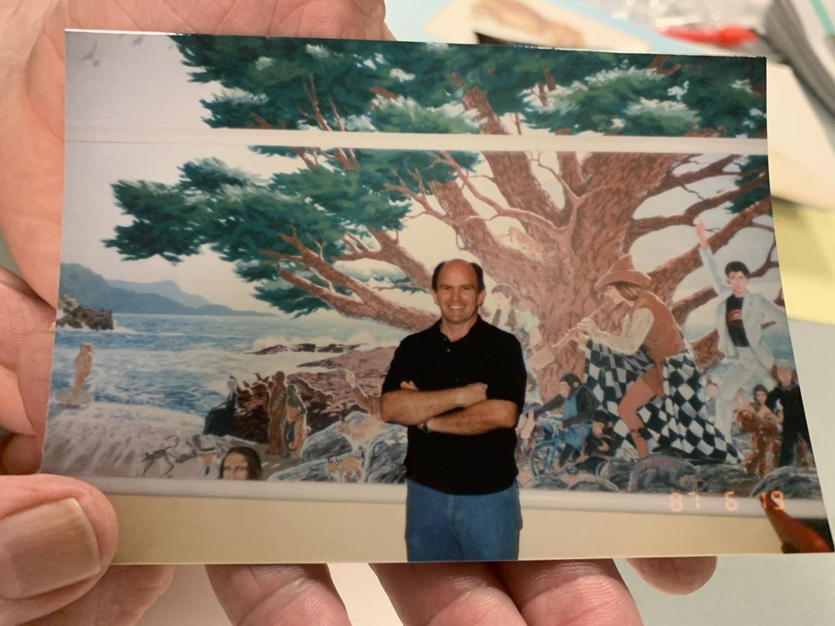 Flashback: Rare photos of Napa State Hospital murals