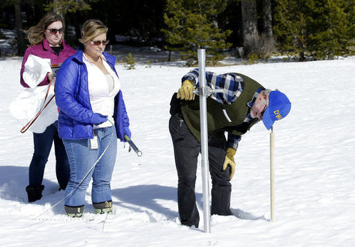Study: Snowpack has declined dramatically across US West