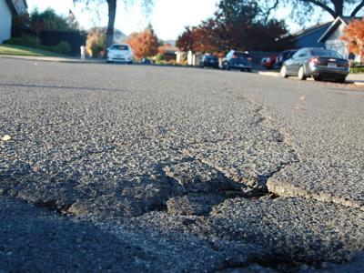 Napa pothole