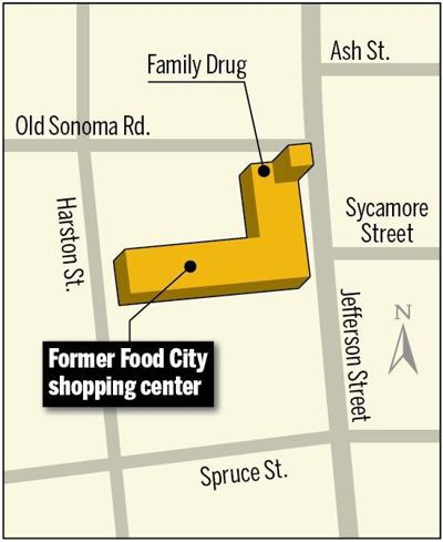 Former Food City shopping center map