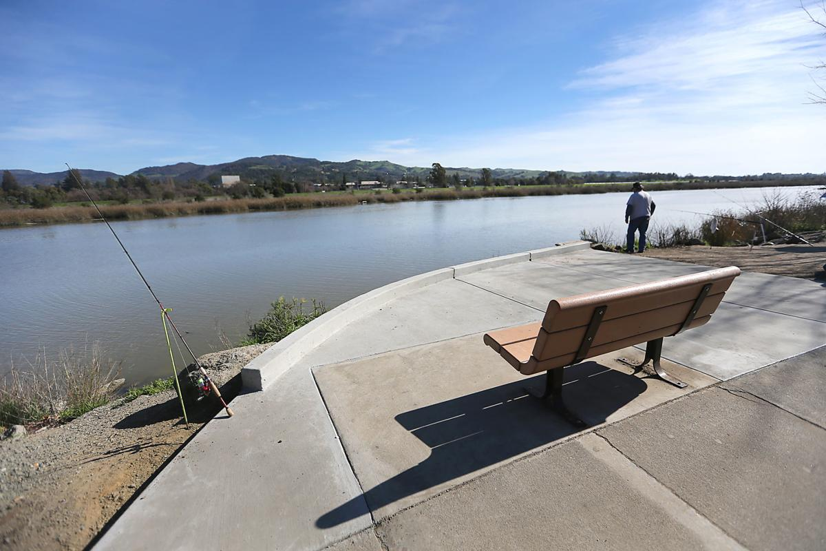 New fishing platform on napa river local news for Napa river fishing