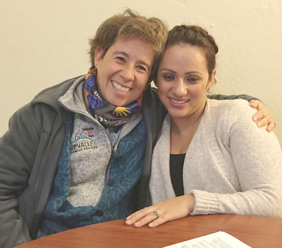Norma Ferriz and Cristina Avina