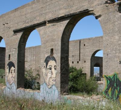 American Canyon cement factory ruins