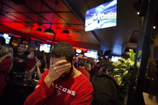 Falcons' fans still in somber mood after Super Bowl loss