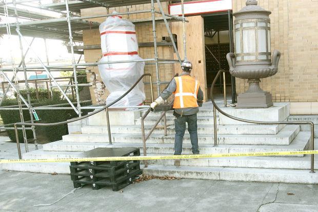 Napa downtown post office: earthquake repairs