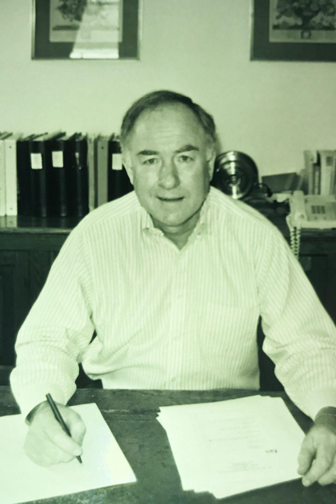 The late John Brown, former St. Helena mayor