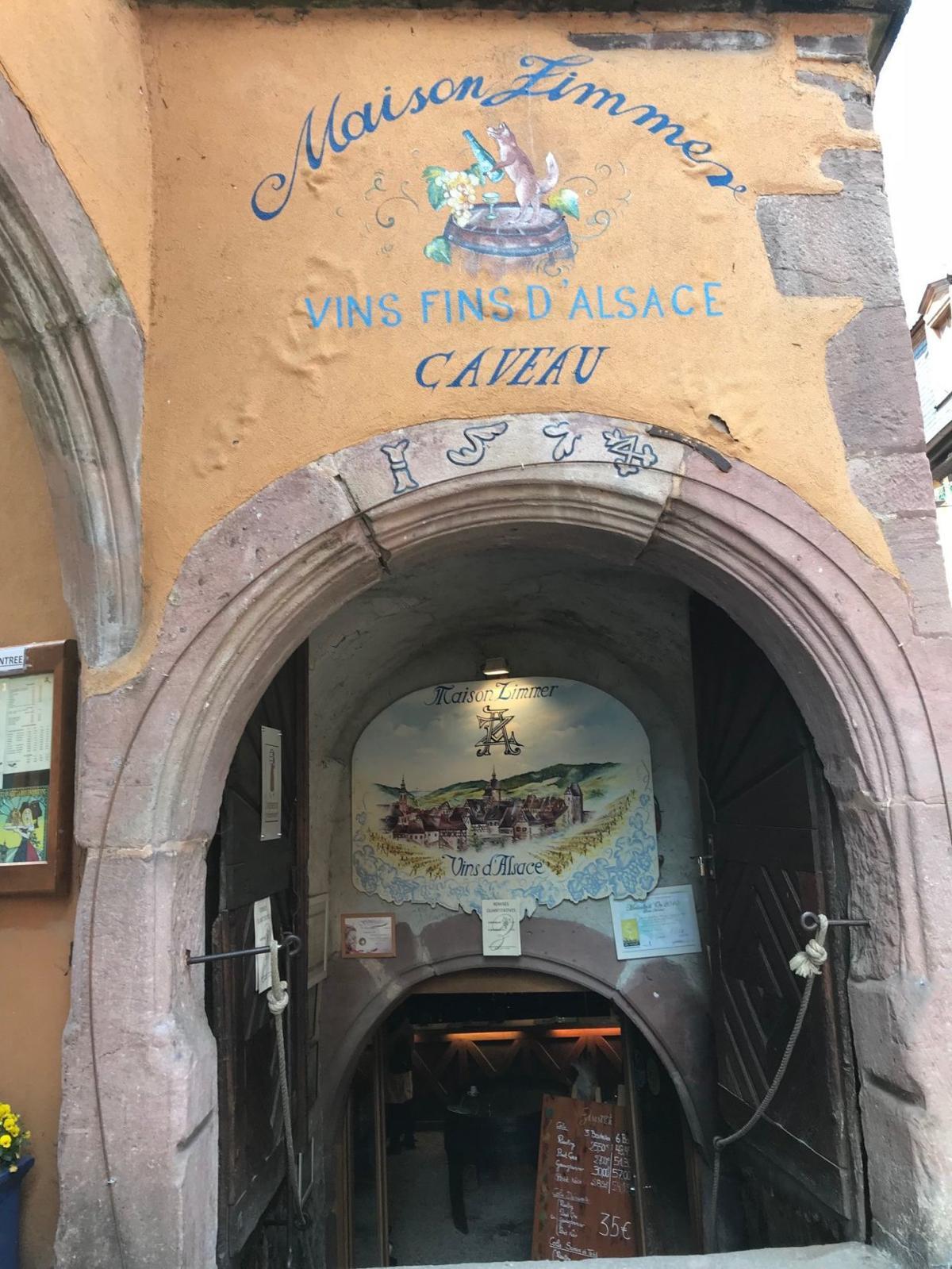 Maison Zimmerman in Riquewihr, Alsace