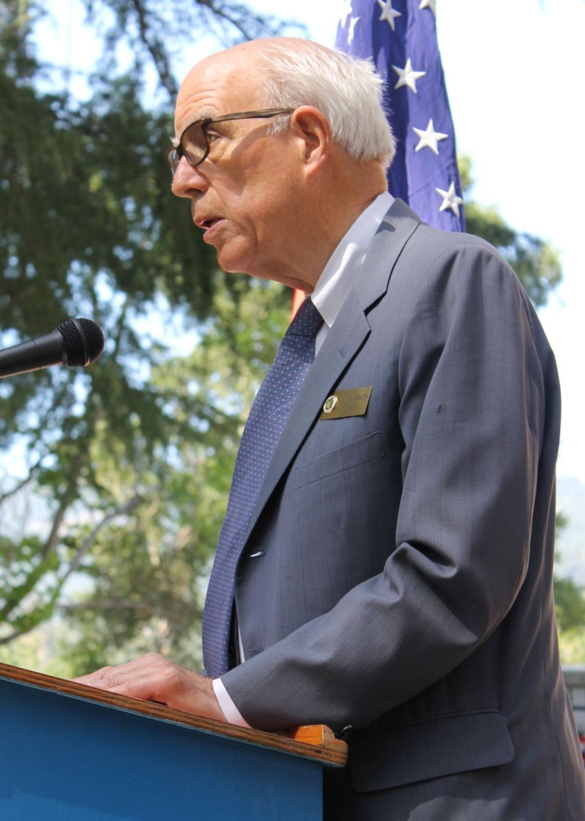 Mayor Alan Galbraith