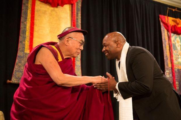 Dalai Lama, James Alexander