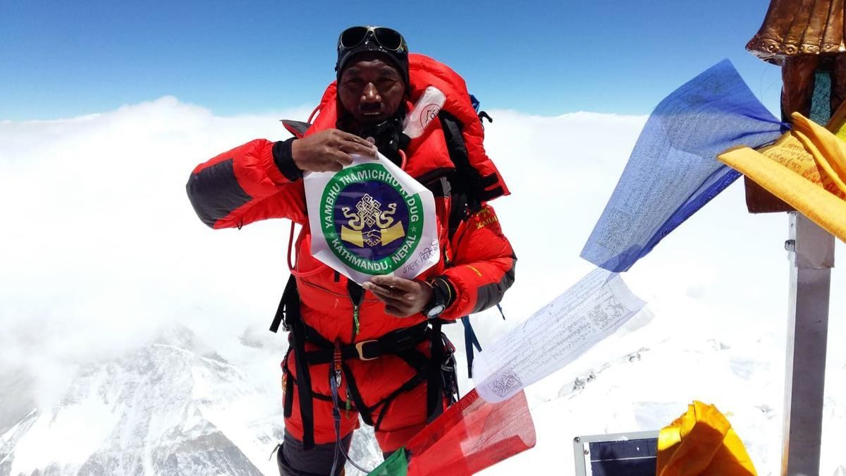 Sherpa with most-ever trips to Mt  Everest summit shares