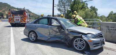 Crash on Silverado Trail near Rutherford