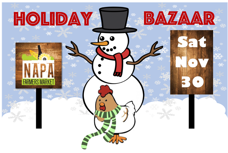 Napa Farmers Market Holiday Bazaar