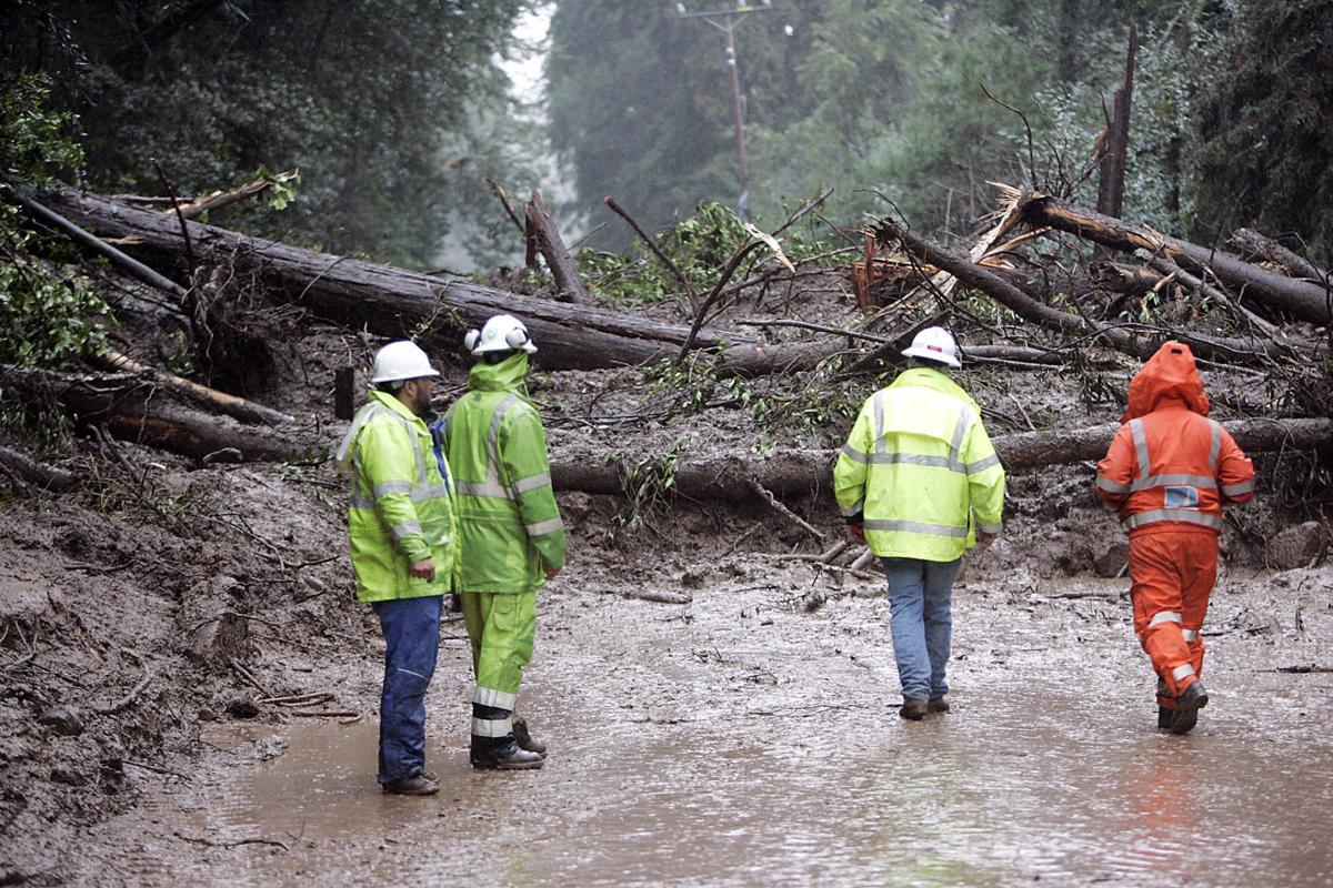 Redwood Road Mudslide