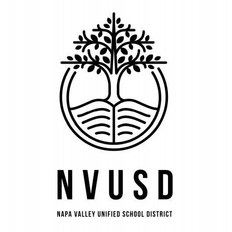 New logo for Napa Valley Unified School District NVUSD
