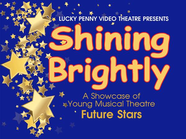 shining brightly