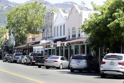 Downtown Calistoga