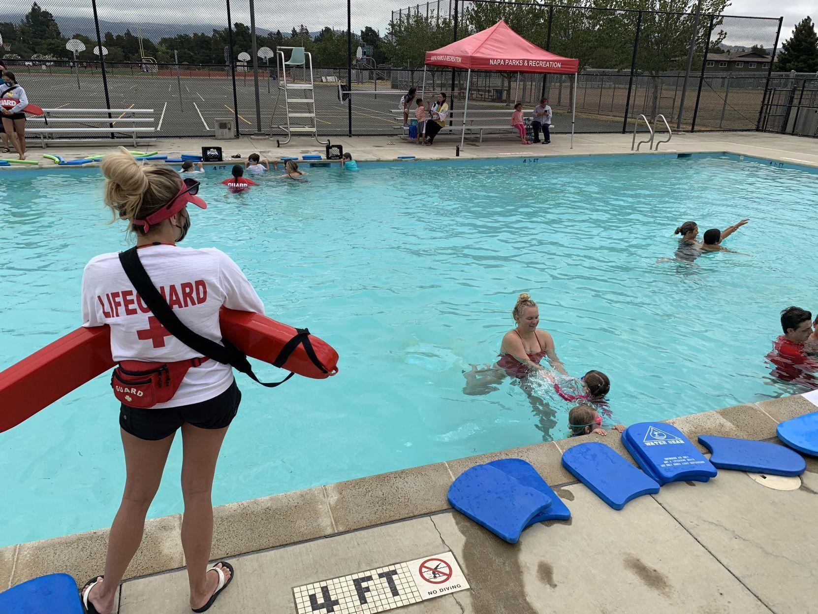 Napa Pools Remain Closed For Almost All Swimming Local News Napavalleyregister Com
