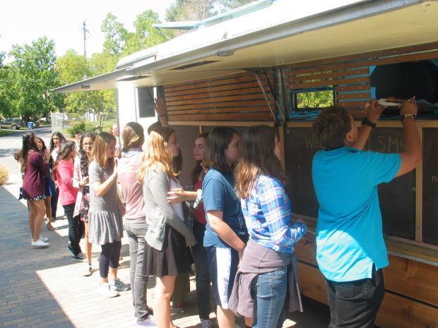 Food truck visits RLS