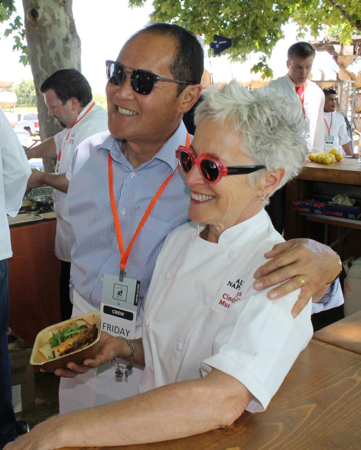 John Watanabe and Cindy Pawlcyn