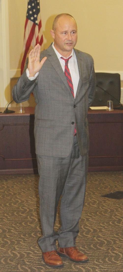Geoff Ellsworth sworn in, December 2018