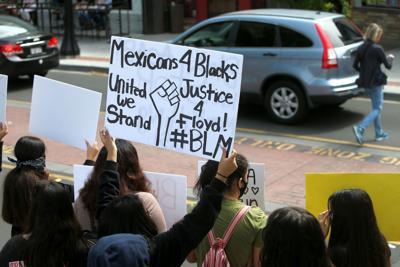 Black Lives Matter protest in Napa