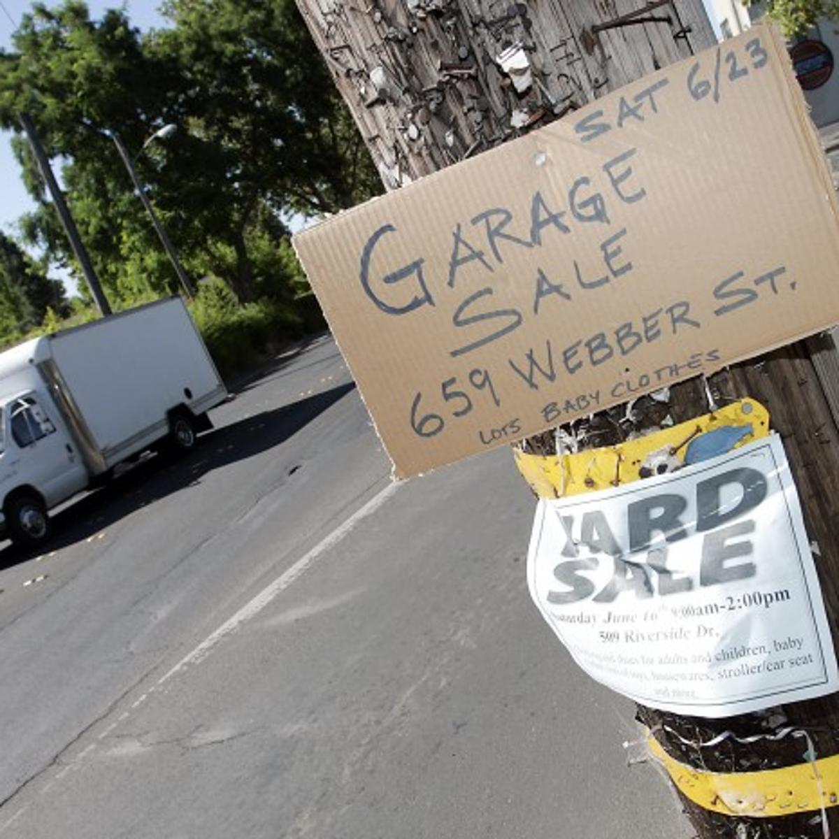 Old garage sale signs vex code enforcement | Local News