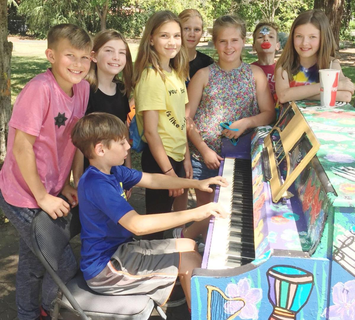 St. Helena Street Piano